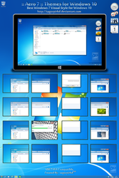 Aero 7 Themes for Win10 Final by sagorpirbd