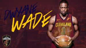 Dwyane Wade joins Cleveland Cavaliers by LilouFranchise
