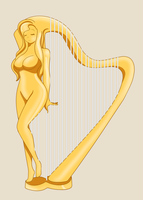 The Recycler: Leila The Harp by DB-Palette