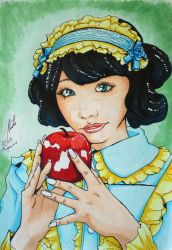 Apple in my eye - Snow White final color version by Shiroimiko