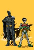 Batman and Robin 1000000 by craigcermak