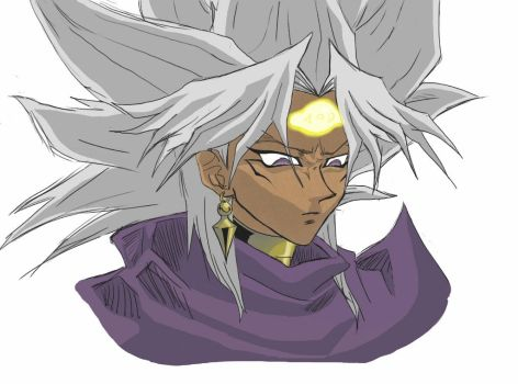 Yami Marik coloured concept by Pikkoku