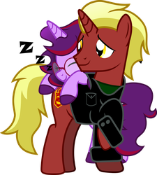 Firebrand and Aramau by Vector-Brony