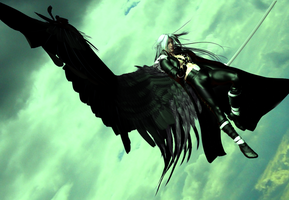 One Winged Angel by DiannaSilver