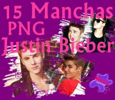 Pack manchas Justin Bieber PNG by Maiiy