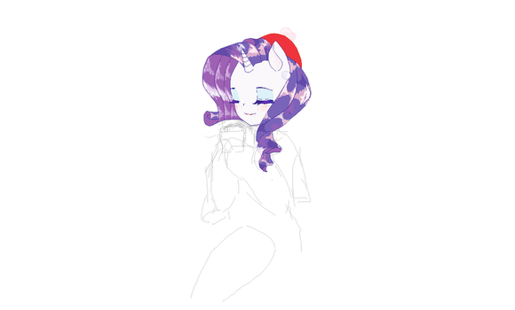 Rarity Winter [WIP] by RiceLover0302