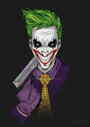 Joker- fanart by volokine