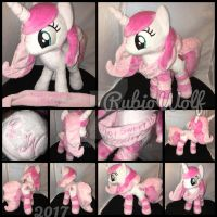 MLP 13 inch OC 'Sweetheart' plushie .:Commission:. by RubioWolf