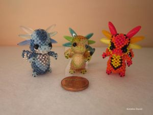 Little Dragons by Katinka-Duval