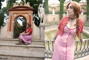Aerith Gainsborough - FINAL FANTASY VII (2) by ExionYukoCosplay
