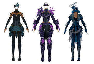 MMD Download - GW2 - Pack 4 by Drysmath