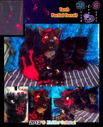 Torch Partial Fursuit by Zhiibe