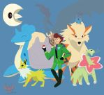 Ty the Pokemon Ranger by Fox-The-Wandering