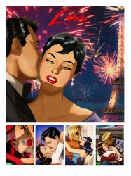 Heroes in Love by Des Taylor by DESPOP