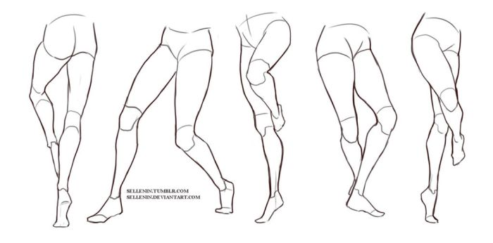 Legs reference by Sellenin