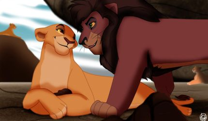 King and his Queen by dyb
