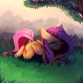 Look in her eyes by Miokomata