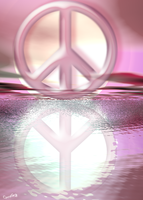 Peace Reflects Peace by cordieb