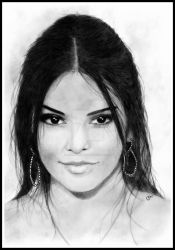 Kendall Jenner by loic-drawing