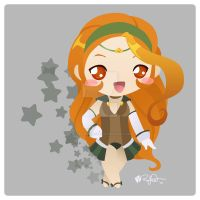 Chibi Virgo by bytesizetreasure