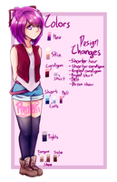 my persona's reference hoorah by Phenpaii
