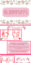 [Closed Species] BloomPuffs Reference Sheet by TheStevieBoy