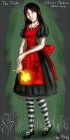 The Girl in Red. by Kazy-NecRus