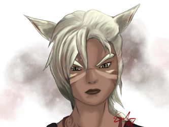 Angry Catte by ashtender