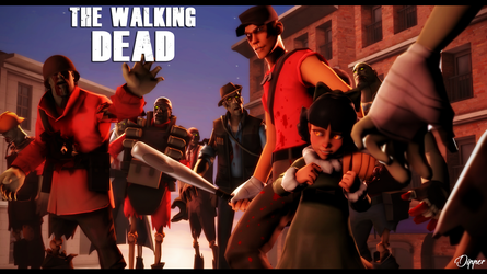 The Walking Dead by BTTFSAGA790