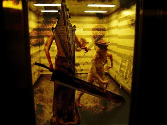 Silent Hill-Red Pyramid Head-1 by AbsoluteZero666
