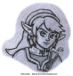 Sketch - Link (Twilight Princess) by AK-Is-Harmless