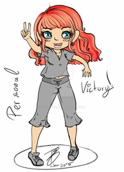 Victory  In color by Angelx91