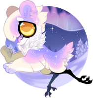 Spacial Bear Marshmallow JR - ( CLOSED /AUCTION ) by Simonetry