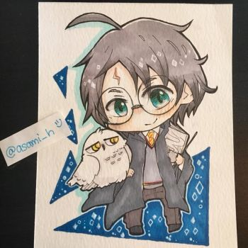 Harry Potter by asami-h