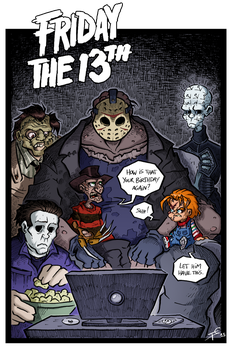 Friday the 13th by Boredman