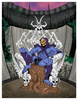 Skeletor might just be a loner by OscarClark