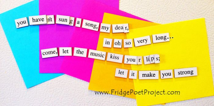 The Daily Magnet #364 by FridgePoetProject