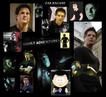 Zak Bagans collage by airbender01