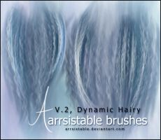 V.2 Dynamic Hairy Brushes by arrsistable
