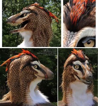 Kinglet, the 'raptor' Mask by Nambroth