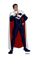 Superman: E-Lo Style by JNcomix