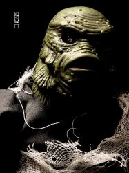 Creature from the Black Lagoon lost in a moment of by Crigger
