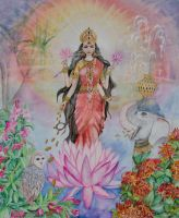 Lakshmi by SilkIntuition