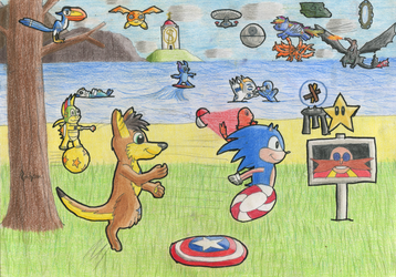 Epic Universe I by Tails--the--Fox