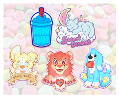 Brand New Stickers For Sale by NeonSlushie