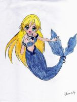 Mermaid by Bluepearlprincess by lixflixU1289