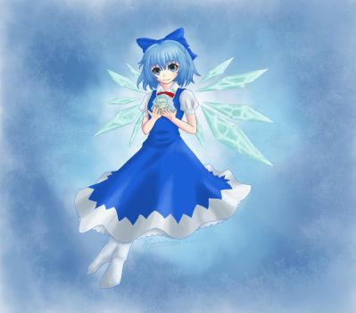 Commission: Cirno by Toverkakkerlak