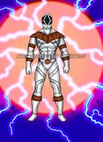 Mighty Morphin Power Rangers Zeo (Super Zeo White) by blueliberty