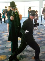 Green Hornet and Kado 2 by outlaw49