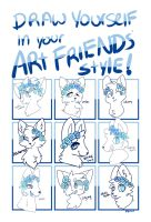 Friend's Style Meme by Iucifurs